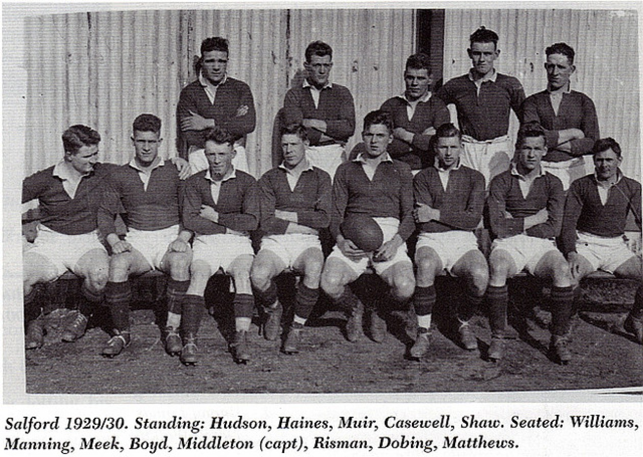 DEDICATED TO  SALFORD RUGBY LEAGUE FOOTBALL CLUB